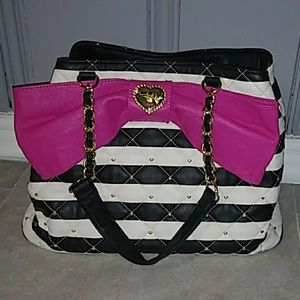 Betsey Johnson purse/tote